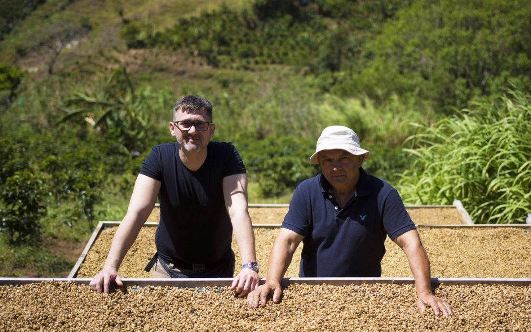 Backstage secrets of exclusive coffee plantation