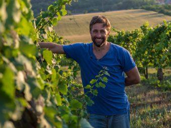 Mark Csepreghy winemaker